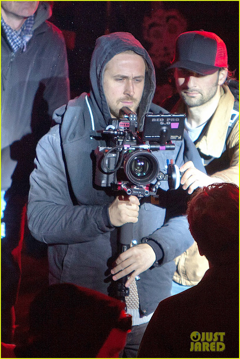 ryan gosling goes behind the camera on how to catch a monster set 01