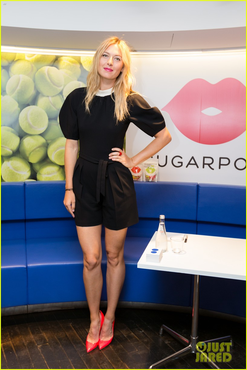 maria sharapova sugarpova launch in france 01