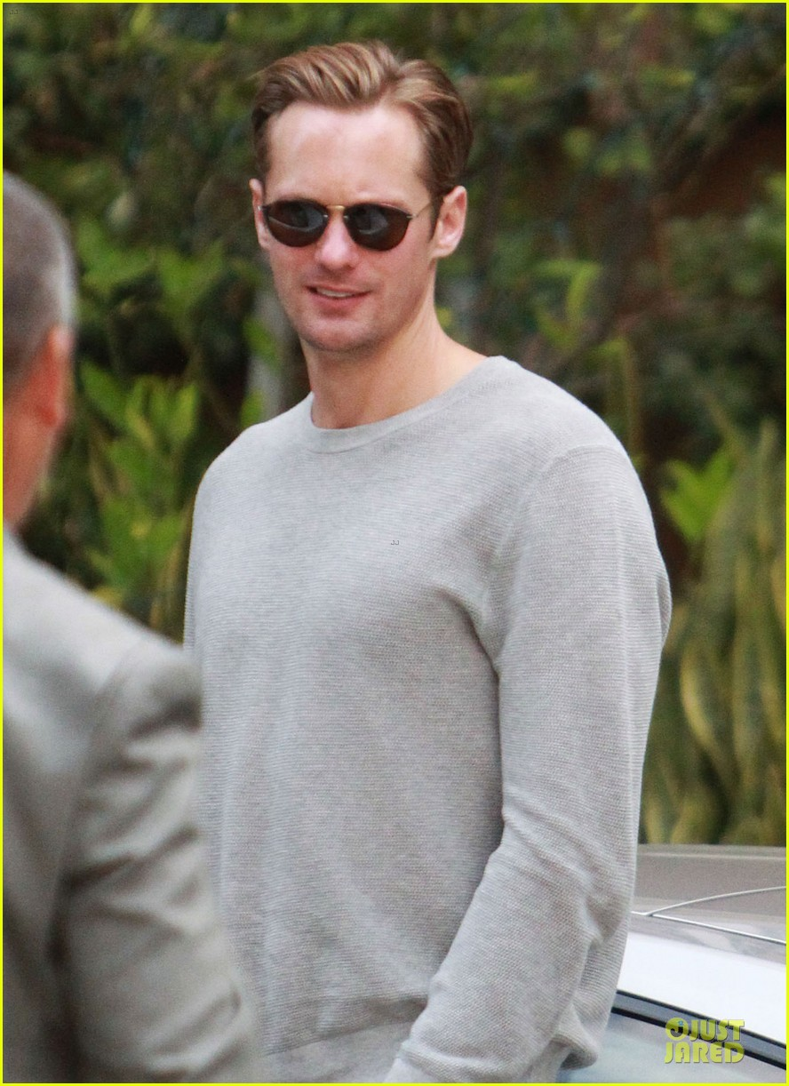 alexander skarsgard the east nyc promotion on monday 02