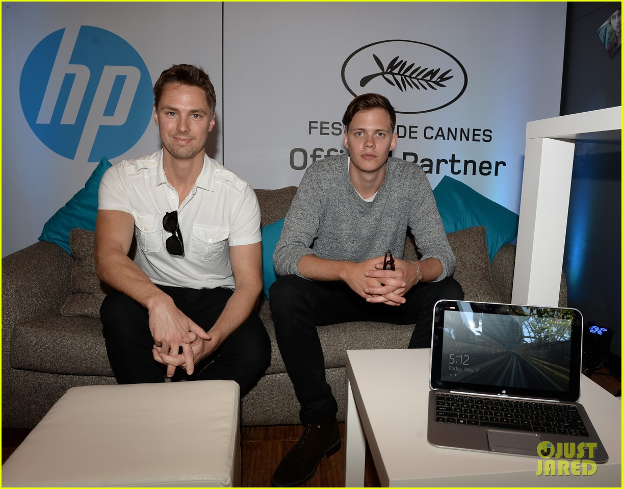 bill skarsgard colin egglesfield support rhinos at cannes 072873171