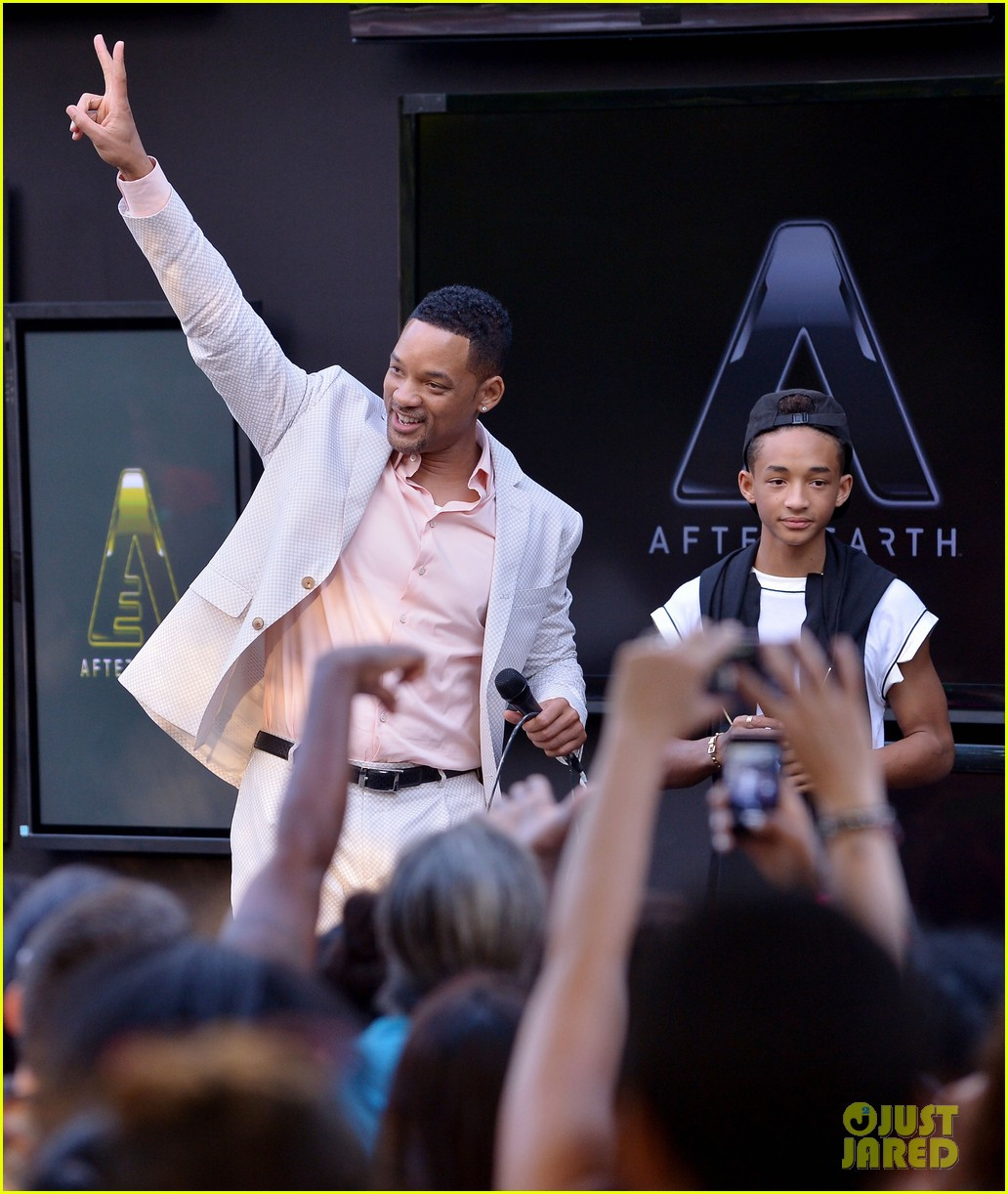 will jaden smith after earth day in miami 13