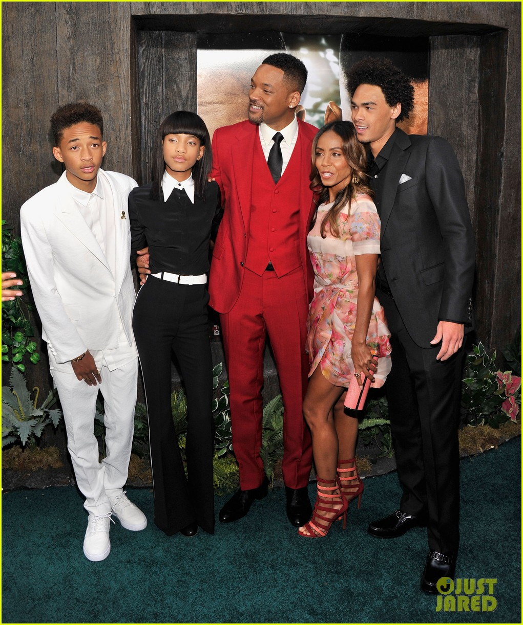 jada will smith after earth premiere with willow jada trey 03