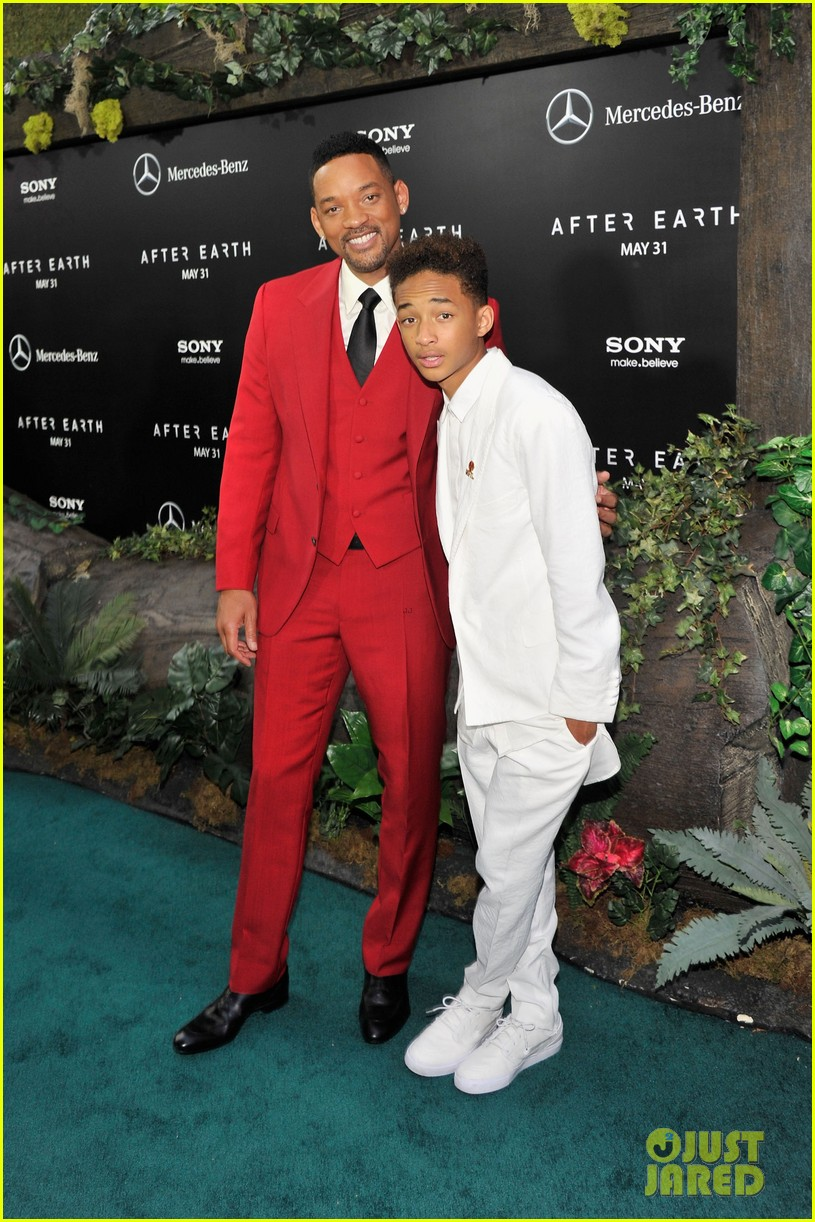 jada will smith after earth premiere with willow jada trey 10