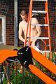 matt smith shirtless shaved head for ryan gosling movie 03