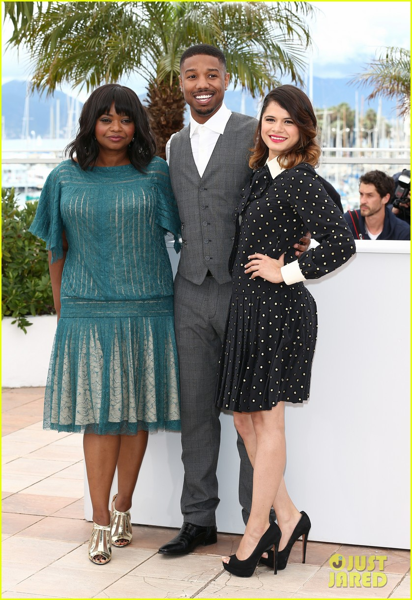 octavia spencer michael b jordan fruitvale station at cannes 12