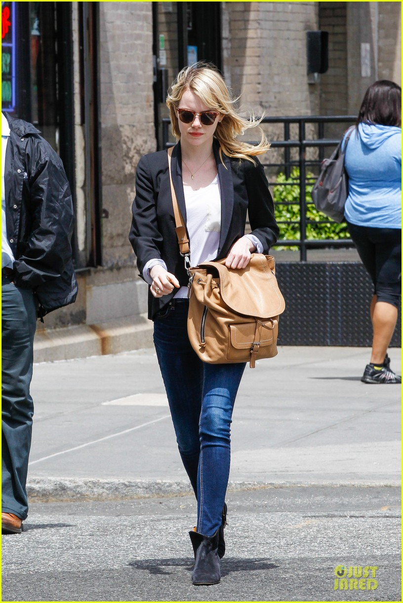 emma stone andrew garfield separate new york strolls 01
