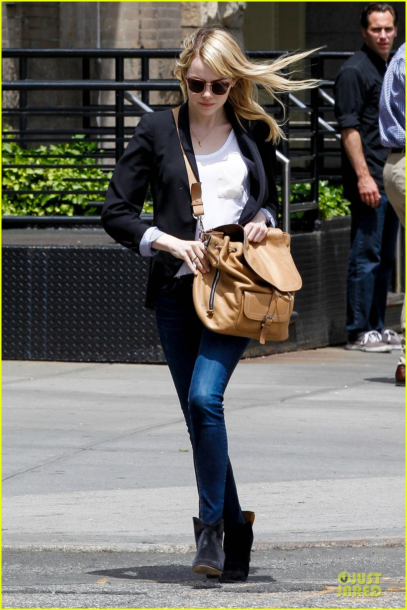 emma stone andrew garfield separate new york strolls 242872640