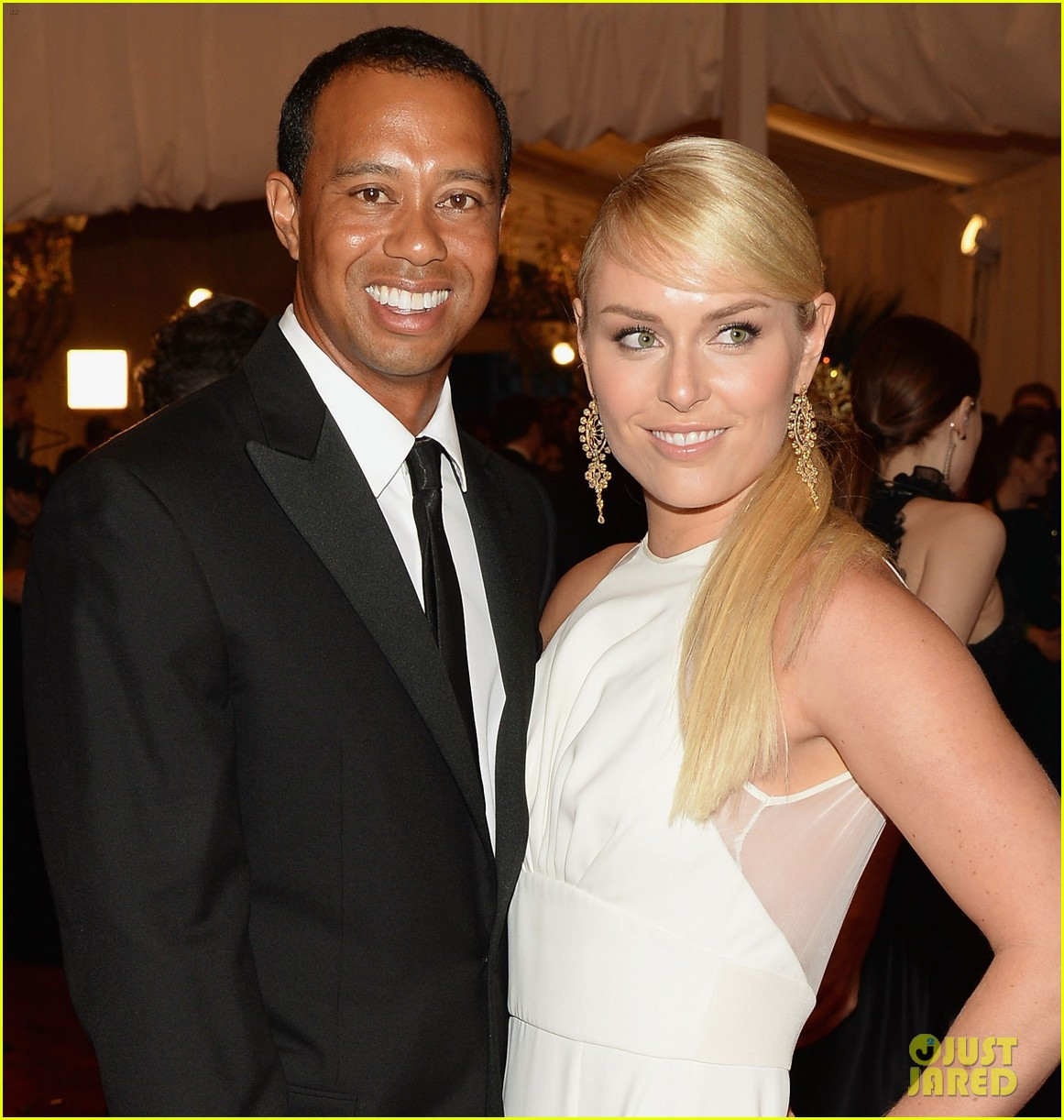 Lindsey Vonn And Tiger 2013