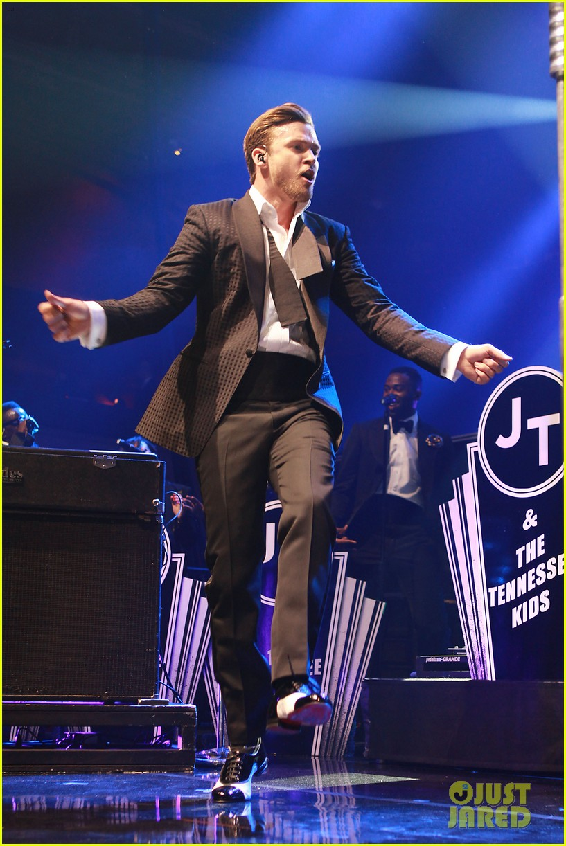 justin timberlake mastercard concert with jessica biel 052864607