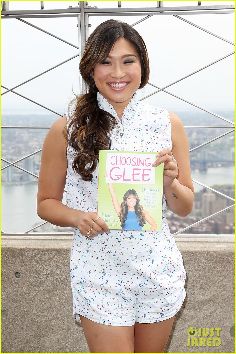 jenna ushkowitz celebrates book launch in new york 13