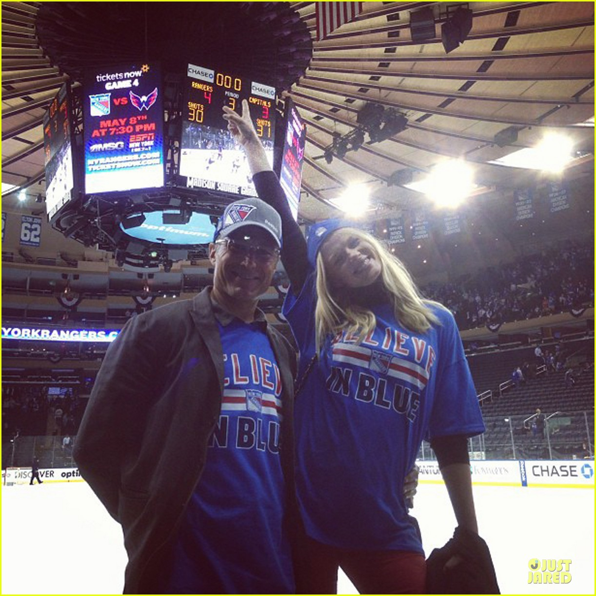 anne v chace crawford new york rangers nhl playoff game 05