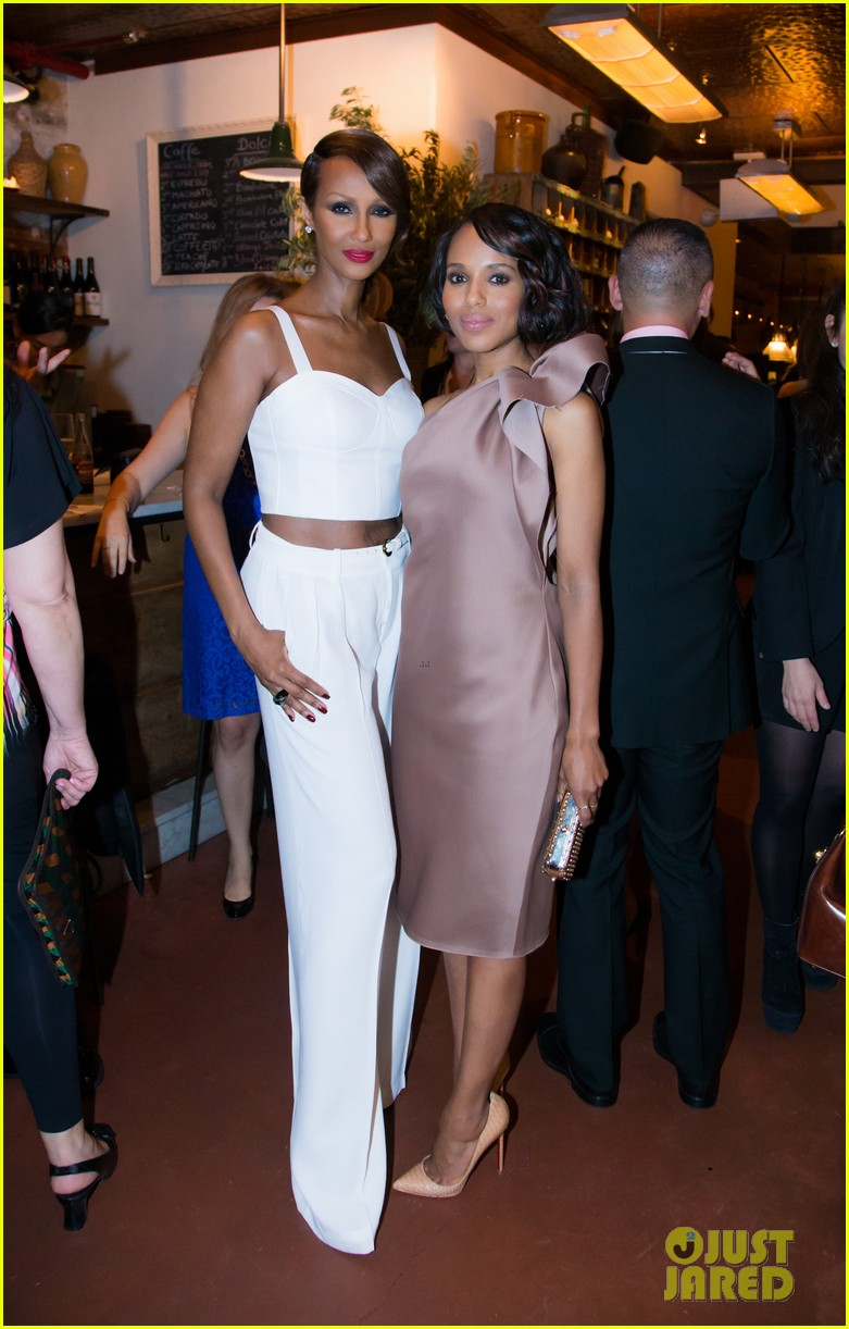 kerry washington attends elle dinner scandal finale tonight 12