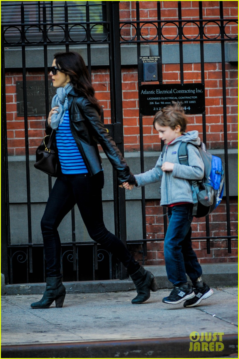 rachel weisz post mothers day outing with henry 022869587