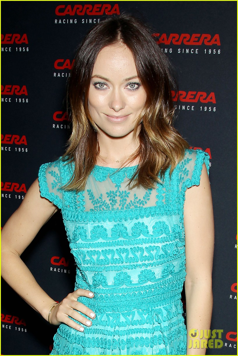 olivia wilde carrera retrospective exhibition 122866361