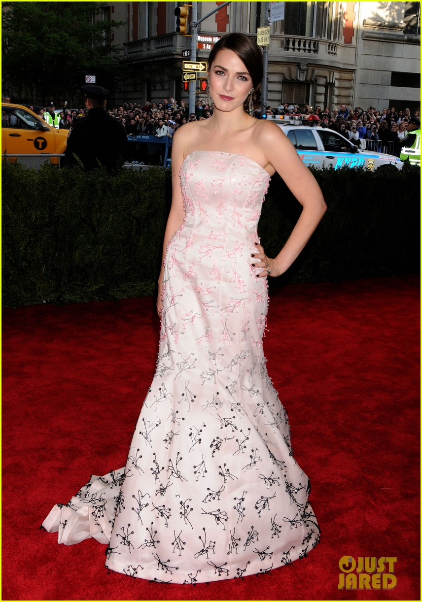 anna wintour met ball 2013 with bee shaffer 012865053