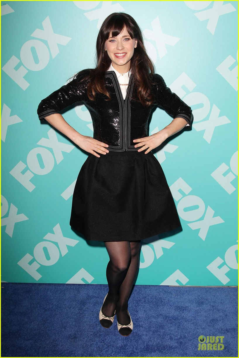 zooey emily deschanel fox upfront presentation sisters 11