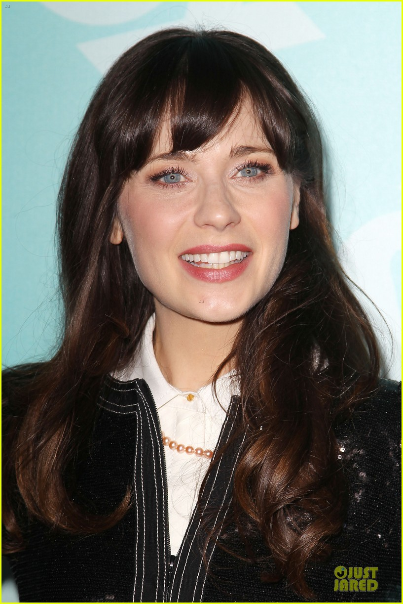 zooey emily deschanel fox upfront presentation sisters 14