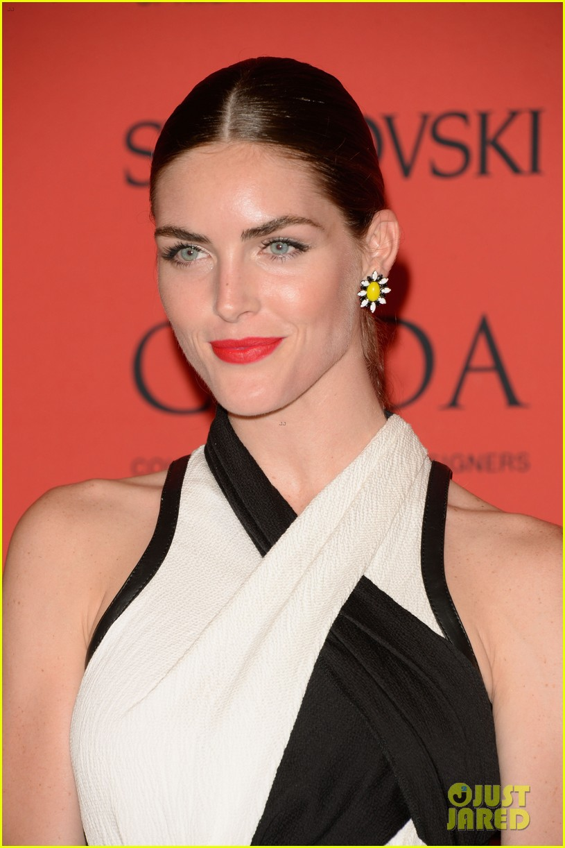 lily aldridge hilary rhoda cfda fashion awards 2013 04