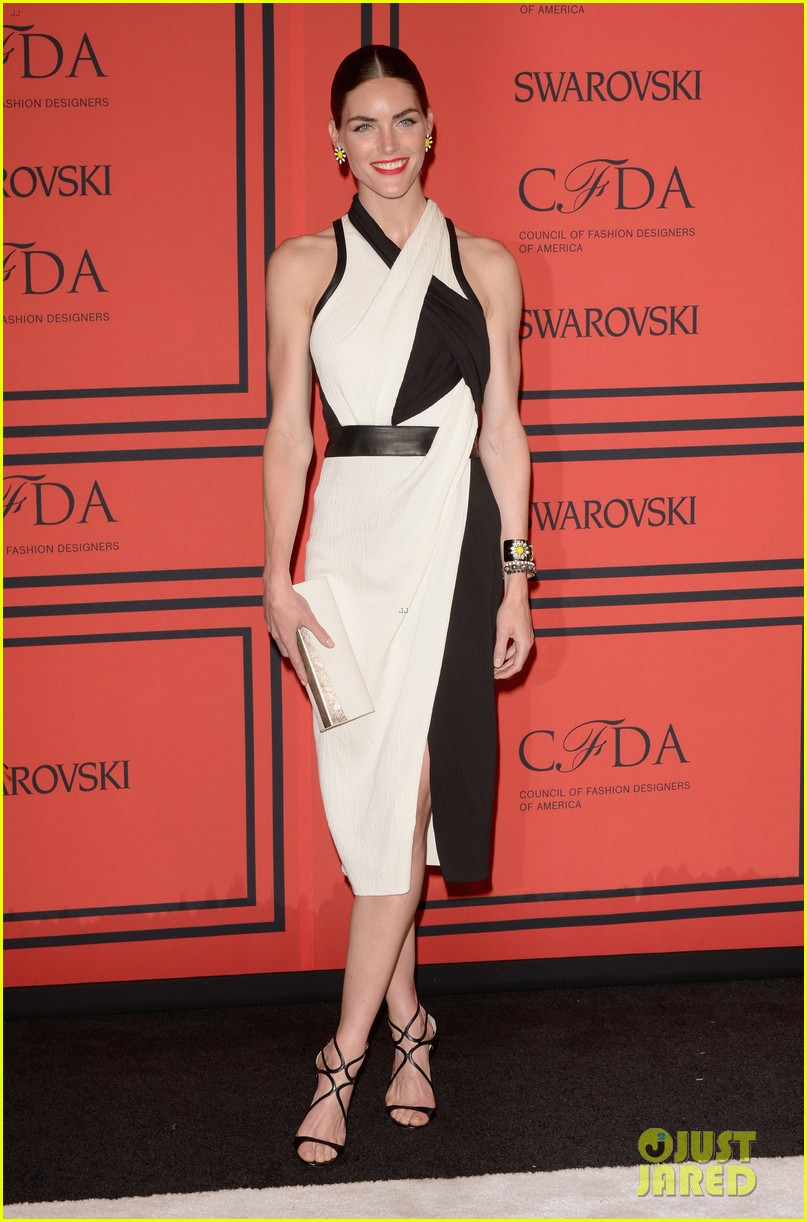 lily aldridge hilary rhoda cfda fashion awards 2013 05