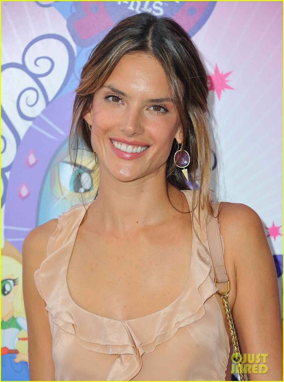 alessandra ambrosio my little pony premiere after anja graduation 12