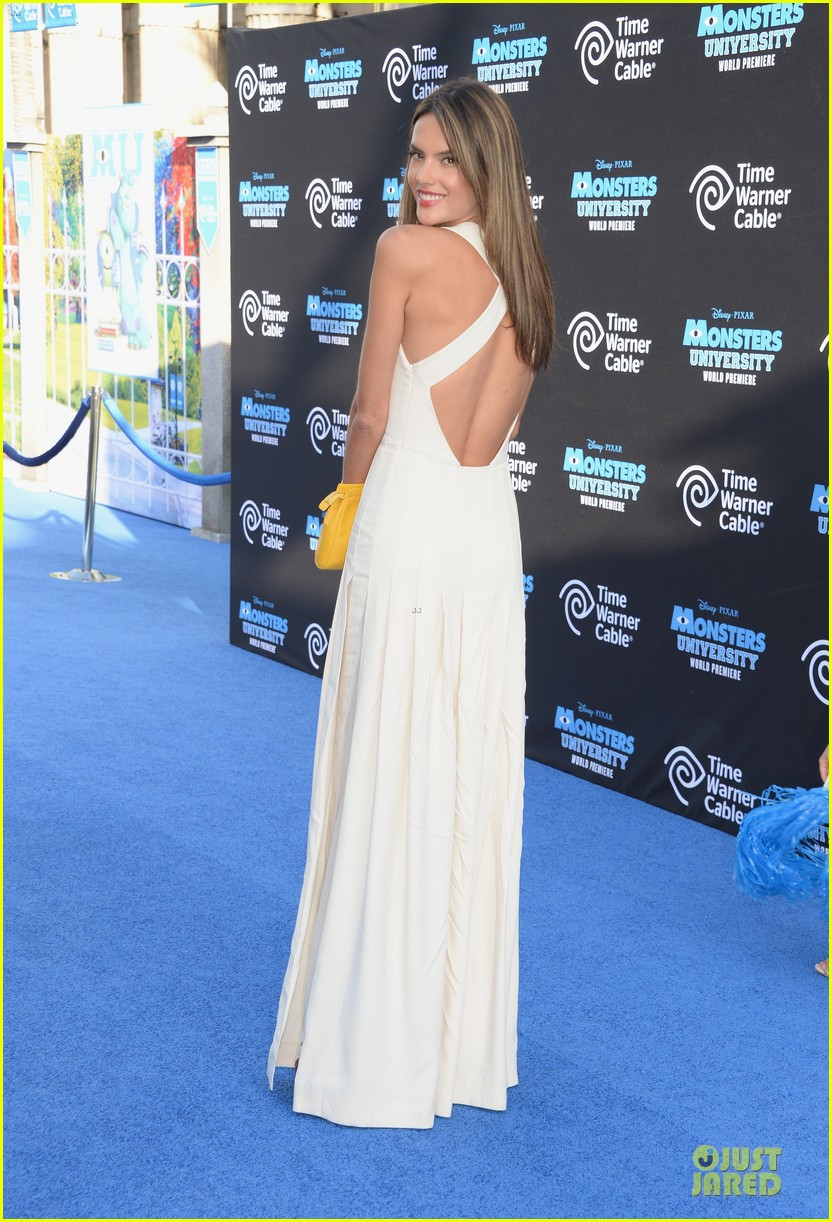 alessandra ambrosio garrett clayton monsters university premiere 112893537