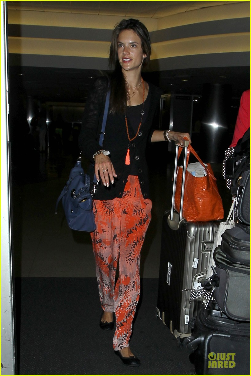 alessandra ambrosio lax arrival after secret project in nyc 092900552