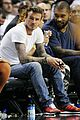 david beckham justin bieber courtside for miami heat playoffs 12