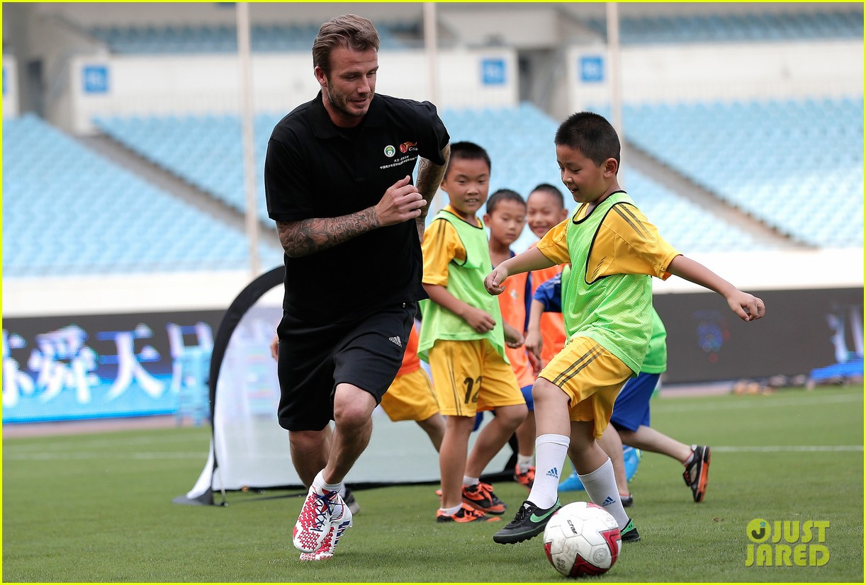 david beckham visits china 27