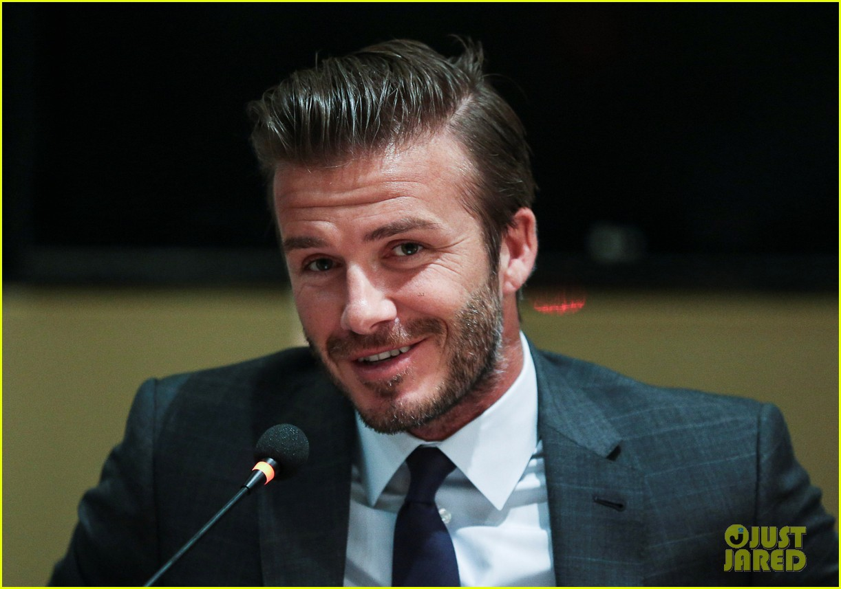 david beckham third day of china visit 04