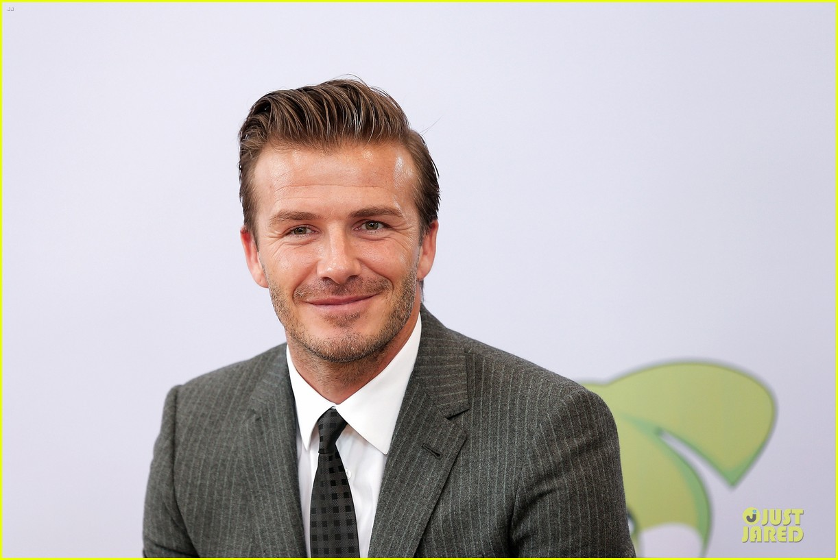 david beckham visits hangzhou greentown club victoria shops 112896324