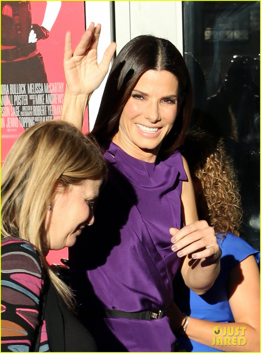 sandra bullock the heat boston premiere 07