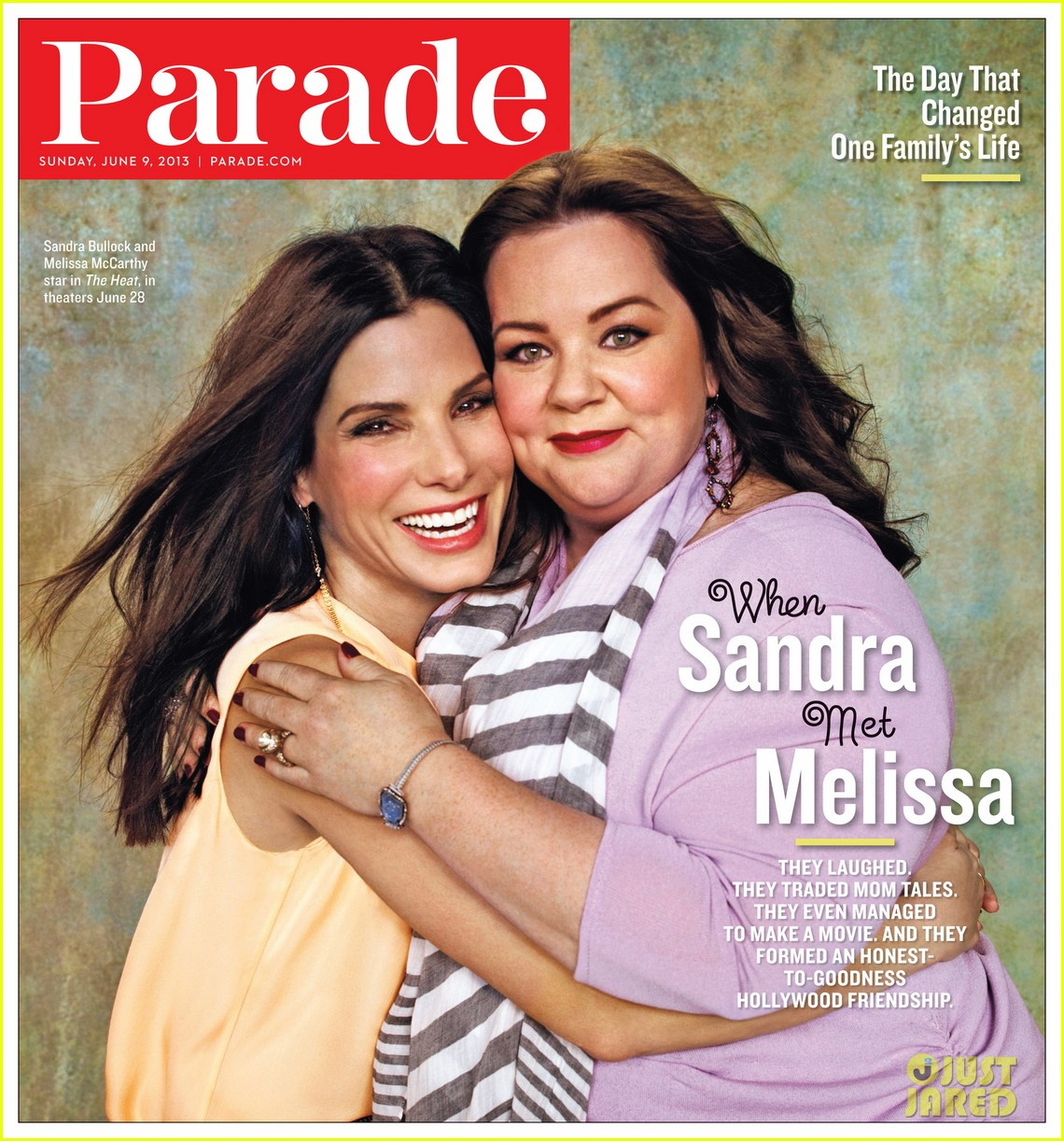 sandra bullock melissa mccarthy cover parade 01