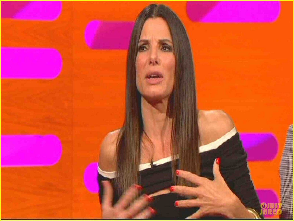 sandra bullock samuel l jackson sex scenes on graham norton 08