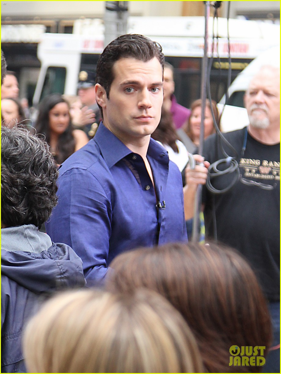 henry cavill amy adams talk show appearances in nyc 20