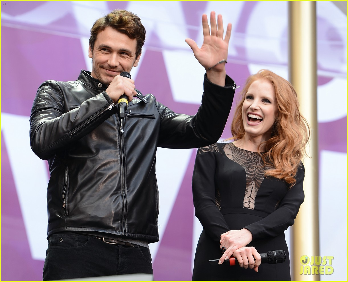 jessica chastain james franco chime for change concert 06