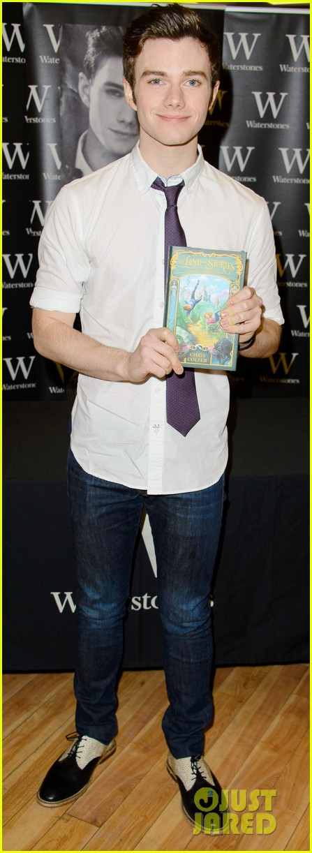 chris colfer struck by lightning uk signing 02