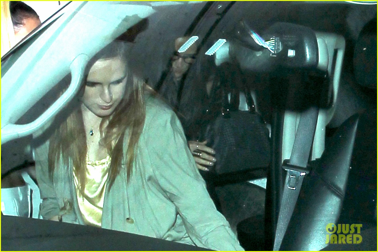 demi moore rumer willis sneak out of sayers club 092895793