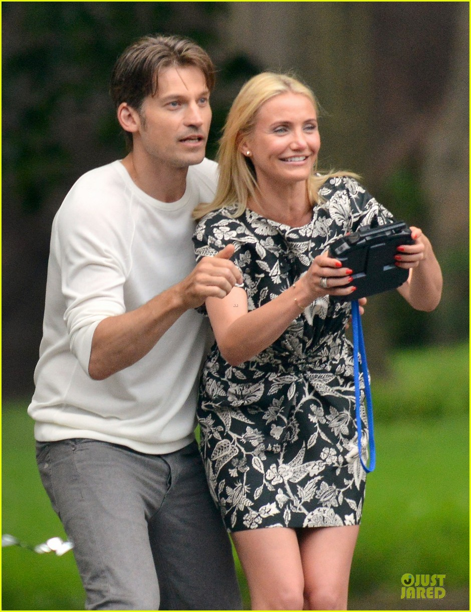 cameron diaz other woman lunch break with costars 08