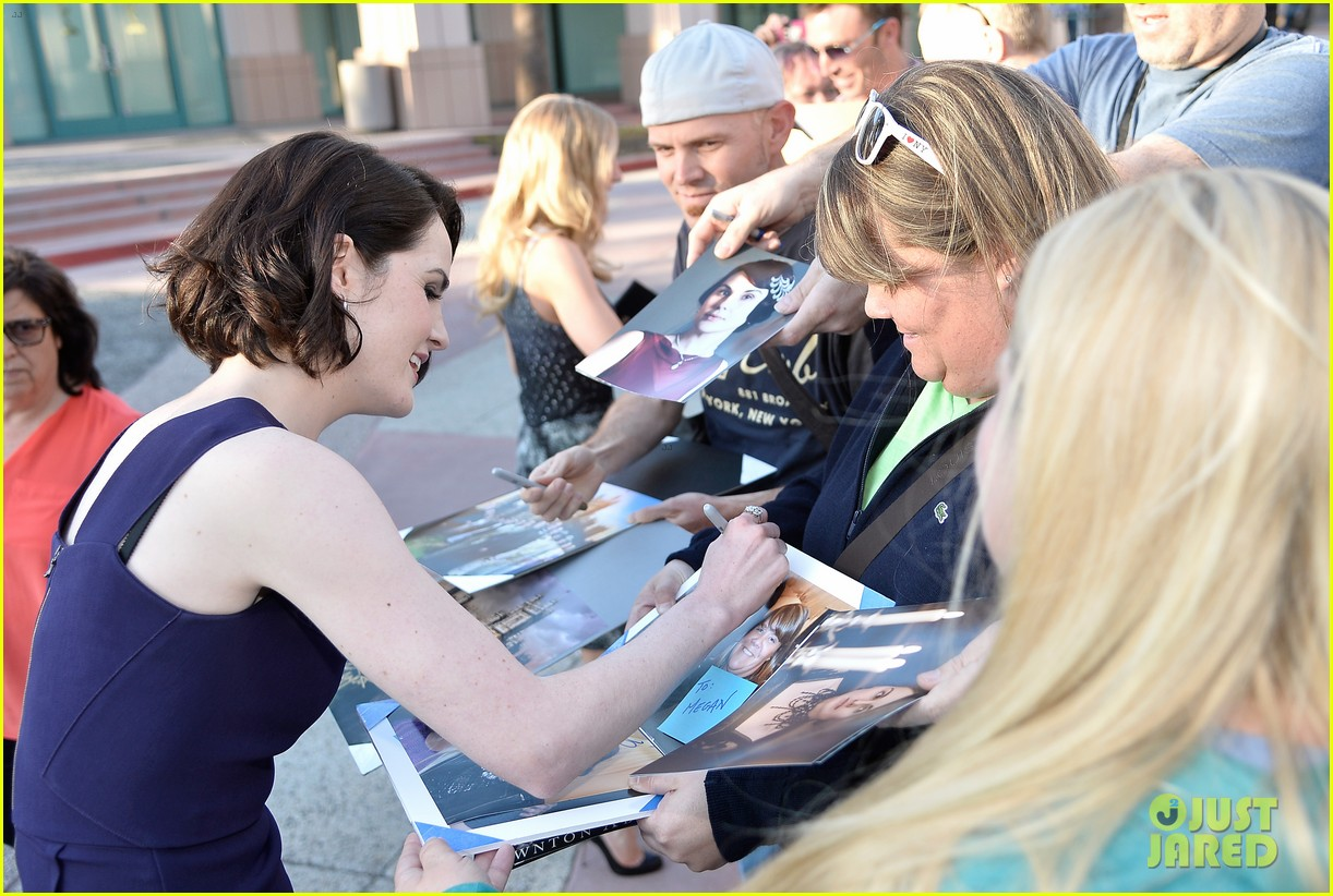 michelle dockery an evening with downton abbey cast 142889000