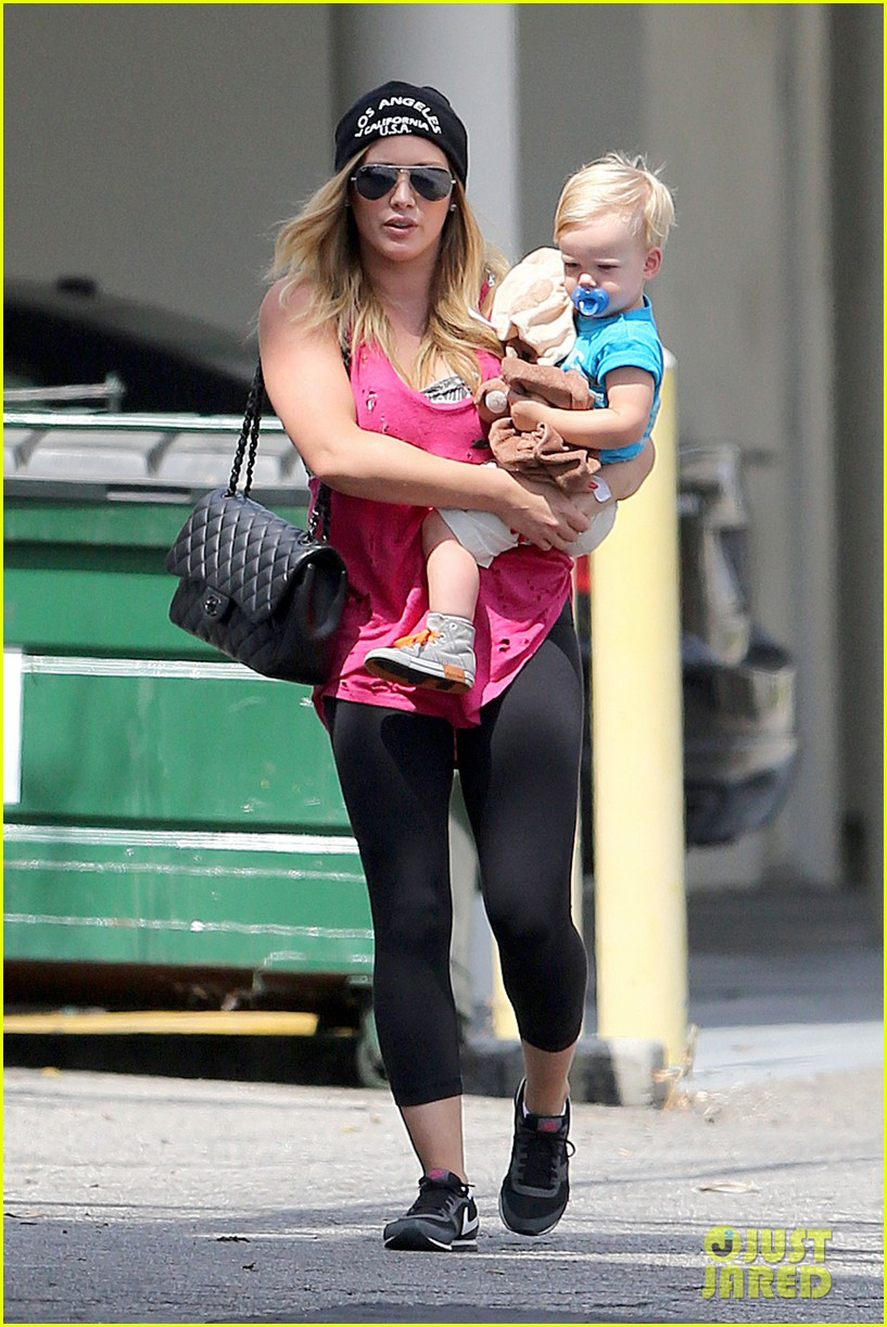 hilary duff luca is the sweetest boy i ever met 01