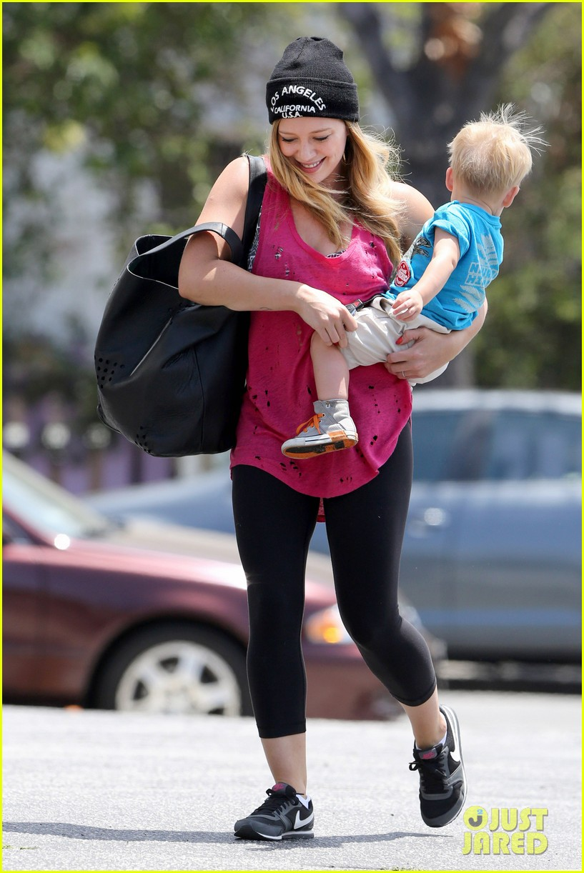 hilary duff luca is the sweetest boy i ever met 052897484