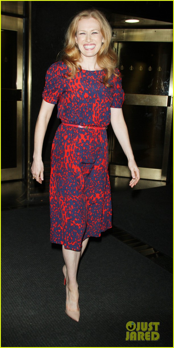 mireille enos world war z promo in new york 072893005