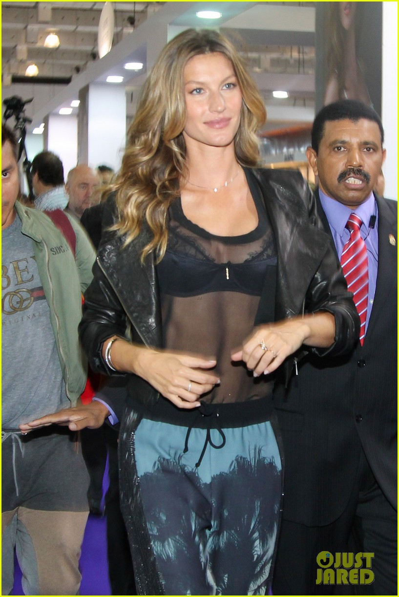 gisele bundchen launches her new lingerie line in brazil 062892465