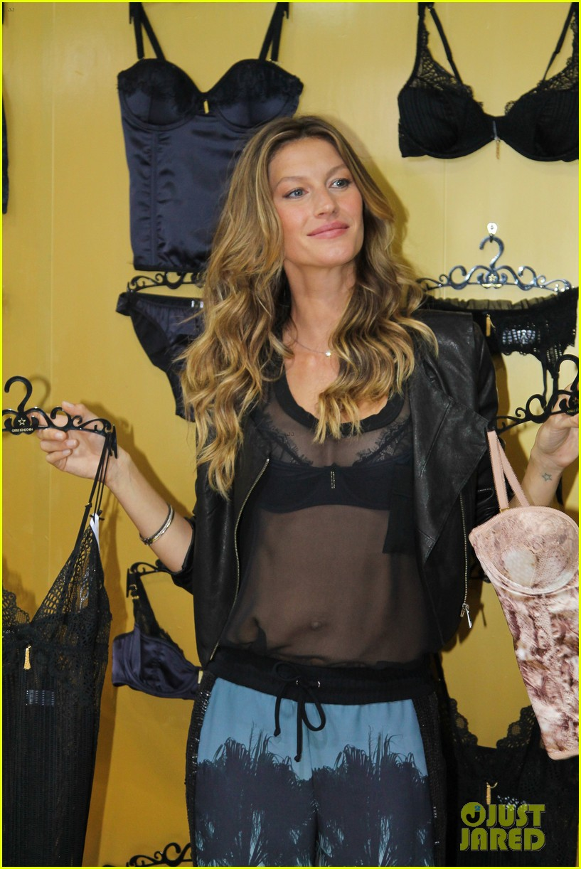 gisele bundchen launches her new lingerie line in brazil 29