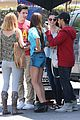 selena gomez david henrie wizards of waverly place lunch reunion 26