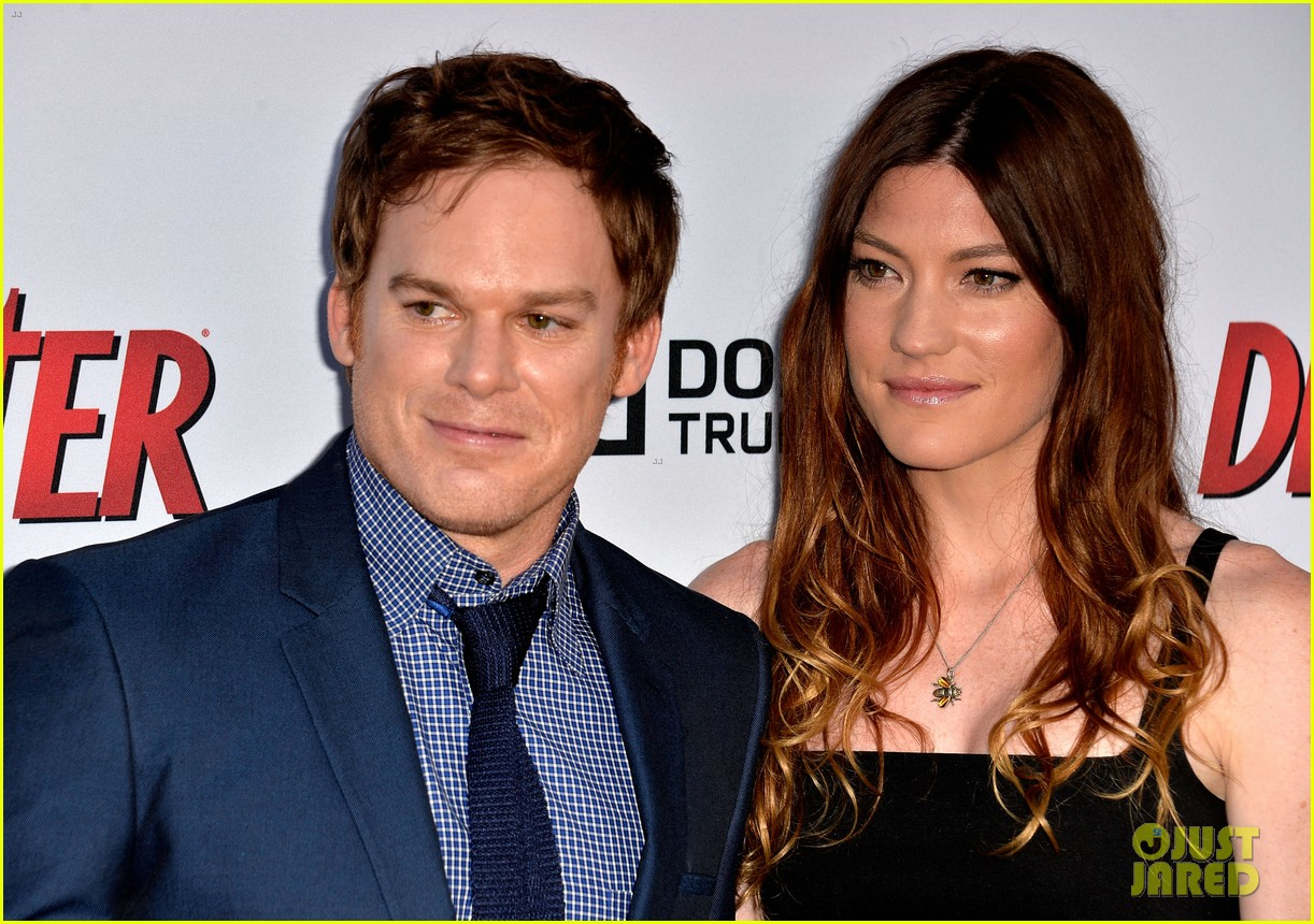 michael c hall jennifer carpenter dexter premiere 302892126