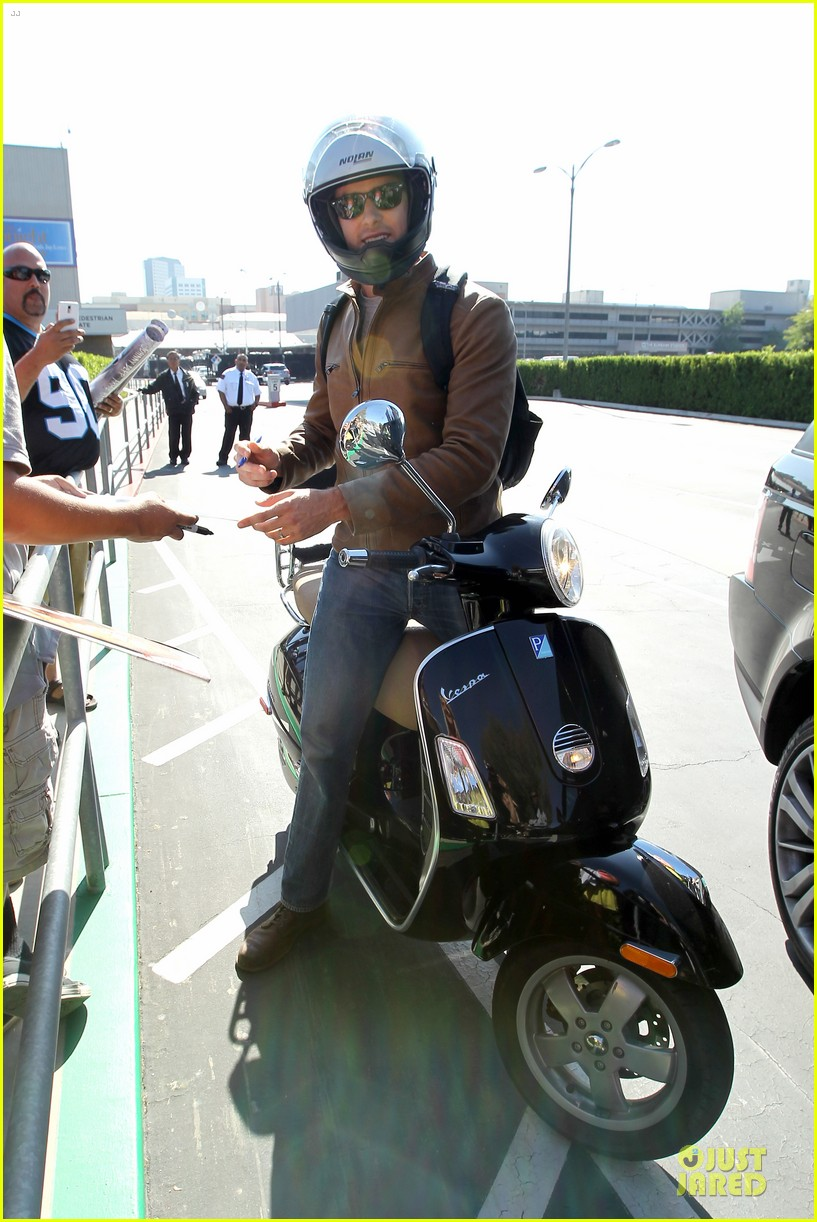 armie hammer motorcycle rider after leno appearance 07
