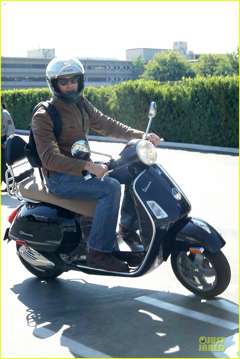 armie hammer motorcycle rider after leno appearance 13