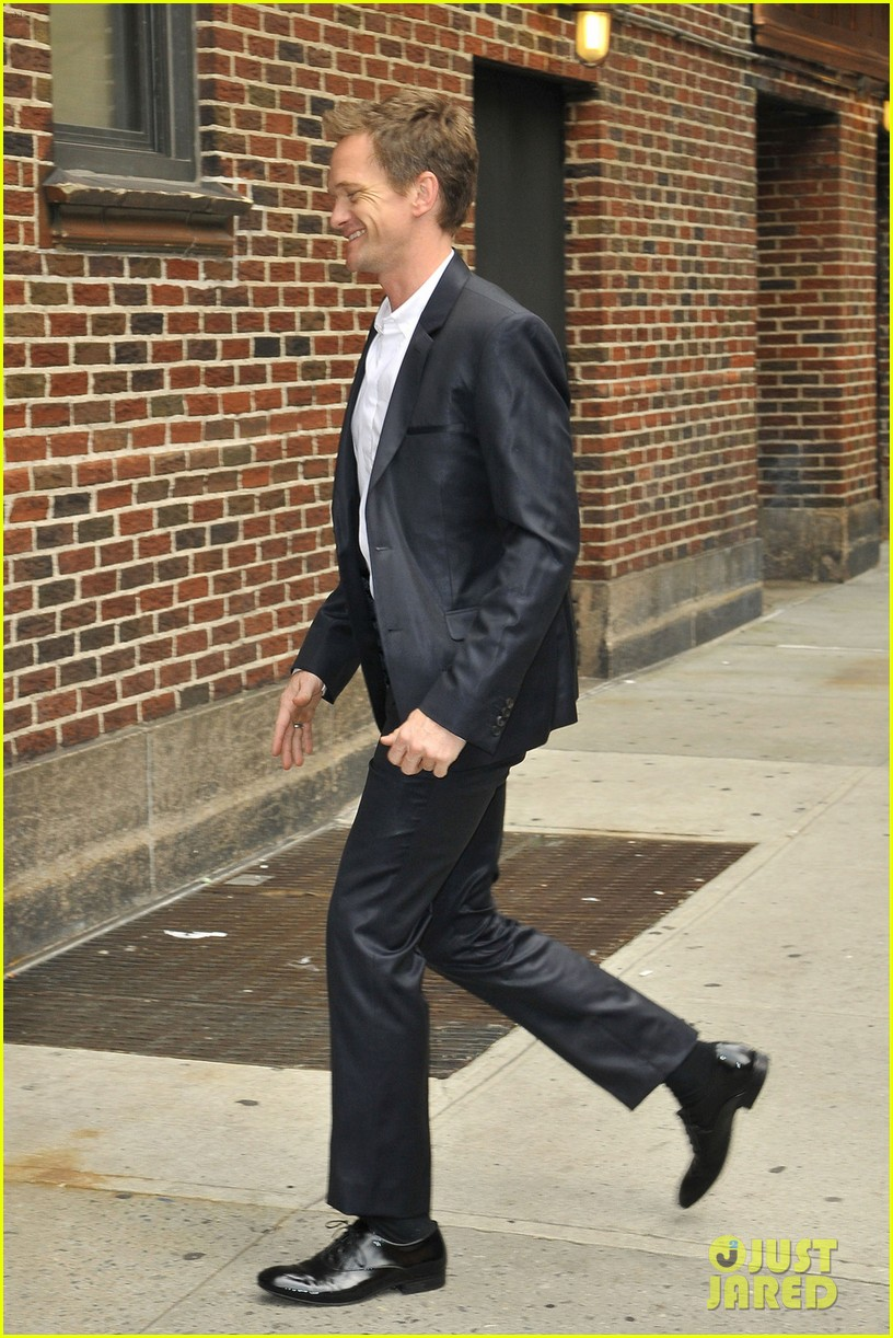 neil patrick harris talks emmy awards 2013 on david letterman 032884729