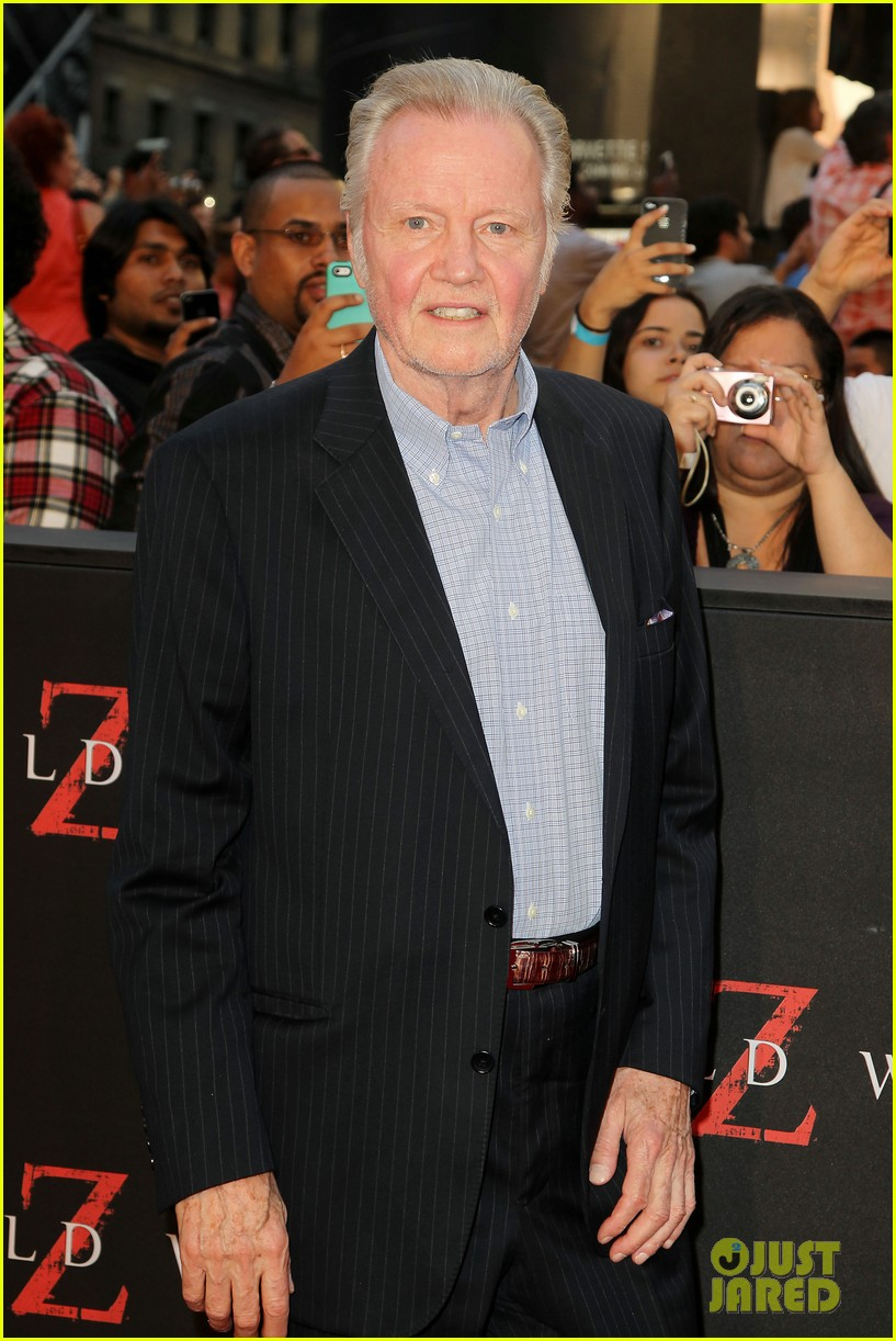 james haven jon voight world war z nyc premiere 062893278
